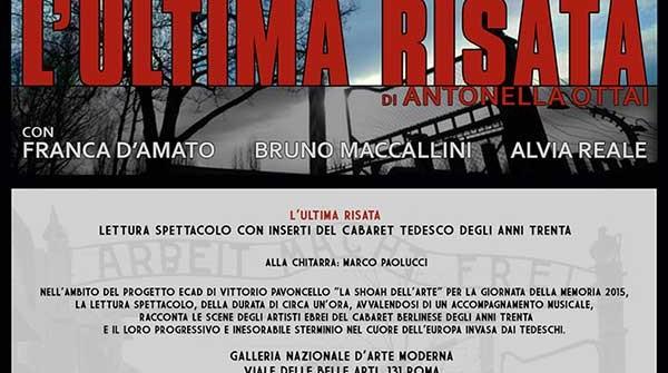 """""""L'ULTIMA RISATA"""""""